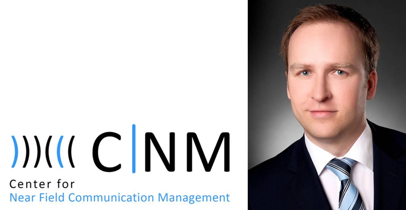 Dr. Marc-Oliver Reeh, Geschäftsführer des Center for NFC Management an der Leibniz-Universität Hannover